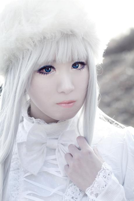 オリジナル擬人化天気【雪】