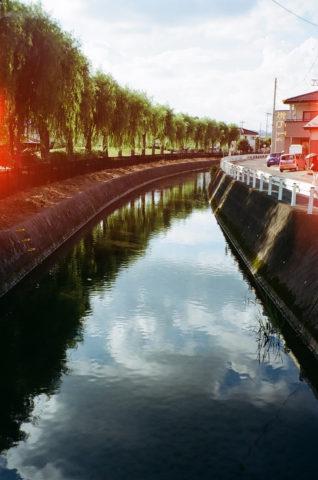 フィルムカメラ 川