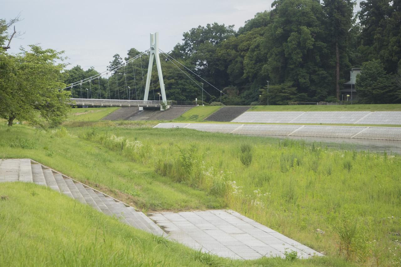 栃木県の東雲公園でバーベキュー