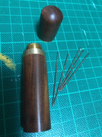 レザークラフト 針