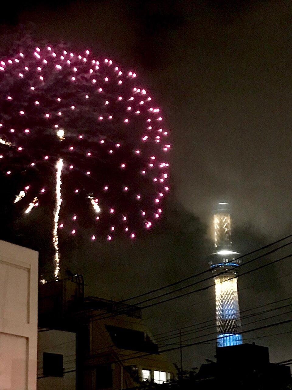 隅田川花火大会 スカイツリー2019
