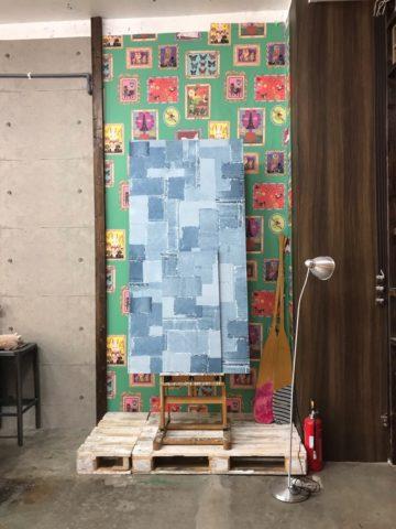 スタジオファントム アーティスティックな壁