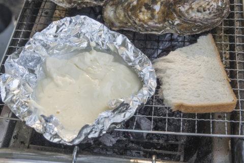 バーベキュー チーズフォンデュ