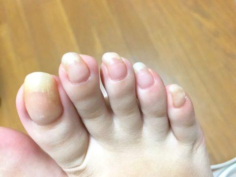 すっぴん爪