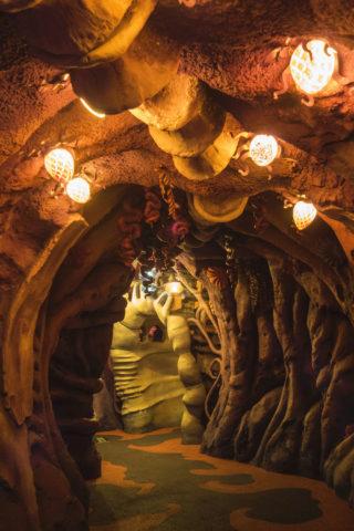 トリトンズキングダムのトンネル
