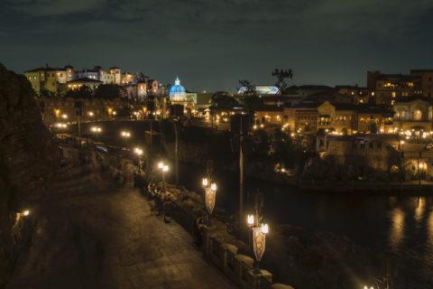 ミラコスタ夜景