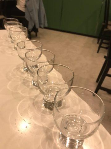 地酒のとびらSUN 日本酒飲み比べ