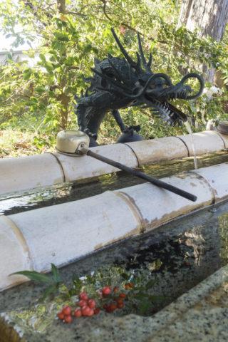 平柳星宮神社 手水舎