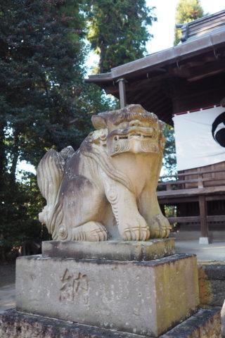 平柳星宮神社 狛犬