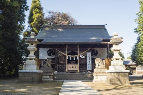 平柳星宮神社 本殿