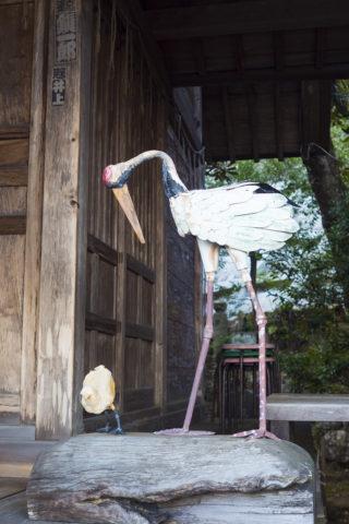 太平山神社 星宮神社 鶴