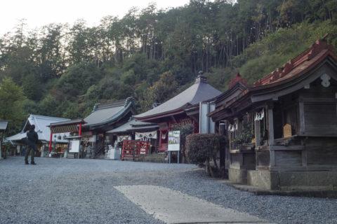 太平山神社にはたくさんの神社が連立している