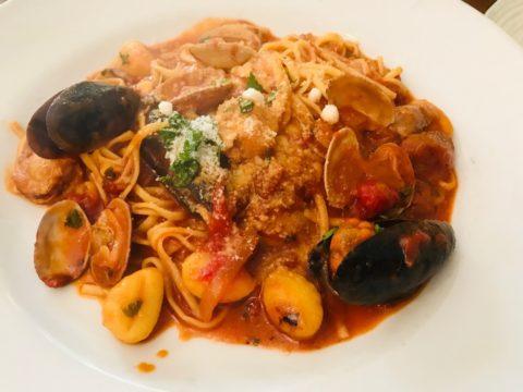 イタリア食堂ヴィアラッテェア ペスカトーレ