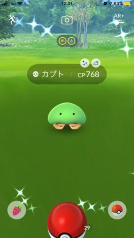 緑のカブト 色違い