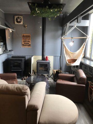 ハンモックカフェ 北欧風な部屋