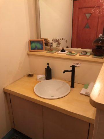 カフェバザールのトイレ