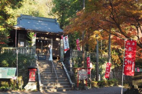夕焼けの涌釜神社