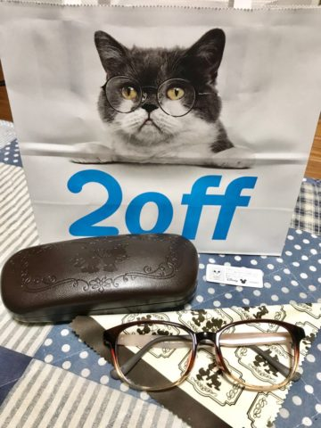 Zoffのディズニー眼鏡