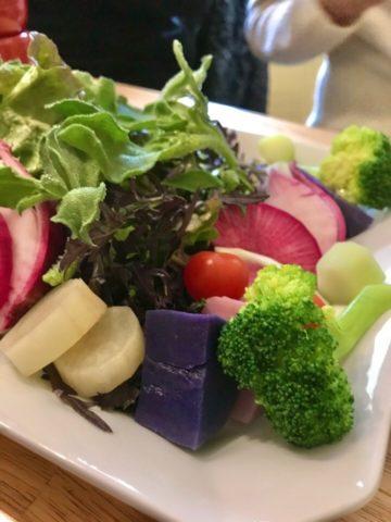 野菜一人前くらい