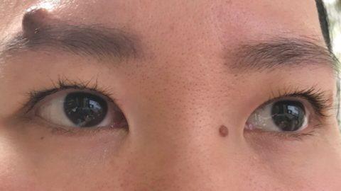 右目のクセが強い