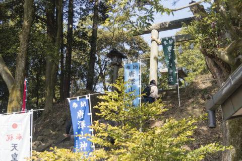 唐沢山神社階段