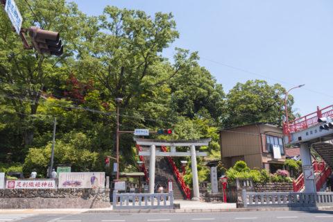 織姫神社入り口の鳥居