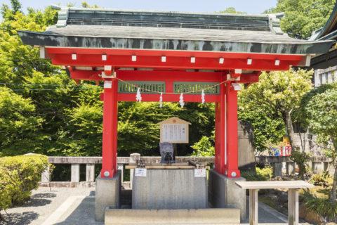 織姫神社の手水舎