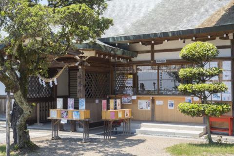 織姫神社の社務所