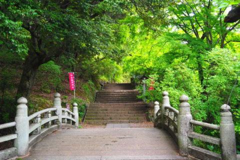 5月の唐沢山神社入り口