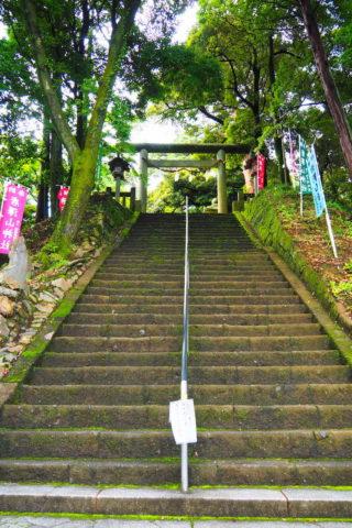 本殿の階段