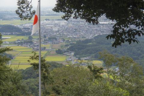 唐沢山神社から見る街の景色