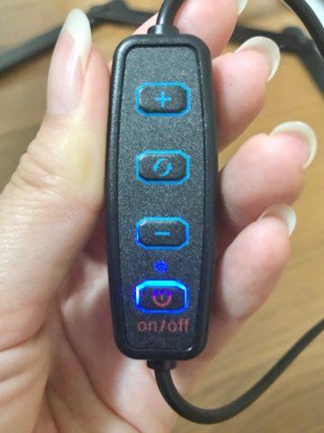 LEDライトのリモコン