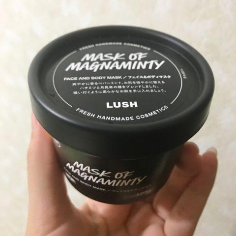 LUSHのパワーマスクSP