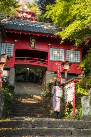 磯山弁財天神社の入り口
