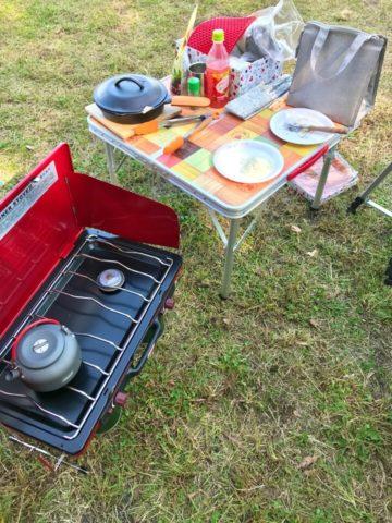 私のキャンプ装備