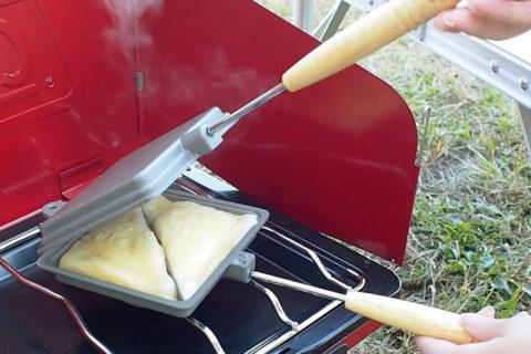マシュマロパイ焼き具合