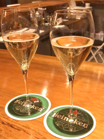 乾杯のスパークリング