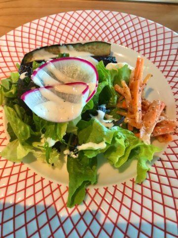 ラ ロゼッタの前菜サラダ