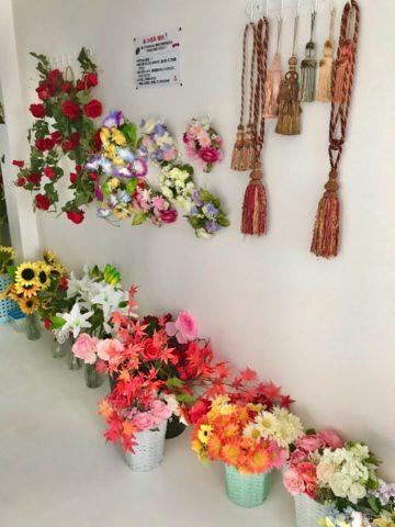 小道具の造花