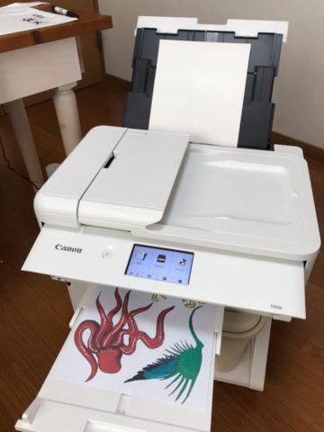 早速タトゥー印刷