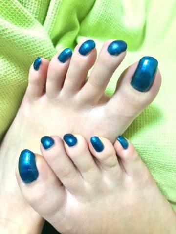 ギリシャ足の爪