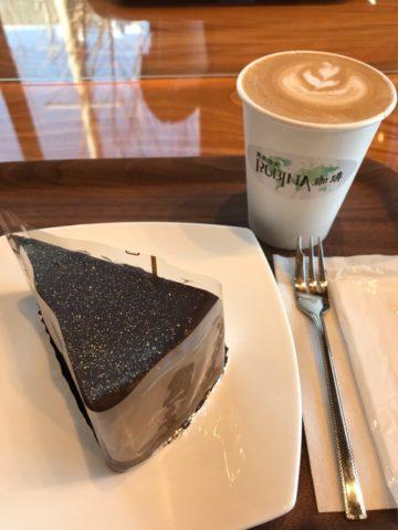 RUBINA COFFEE 開店記念ケーキセット