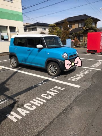 HACHICAFE駐車場