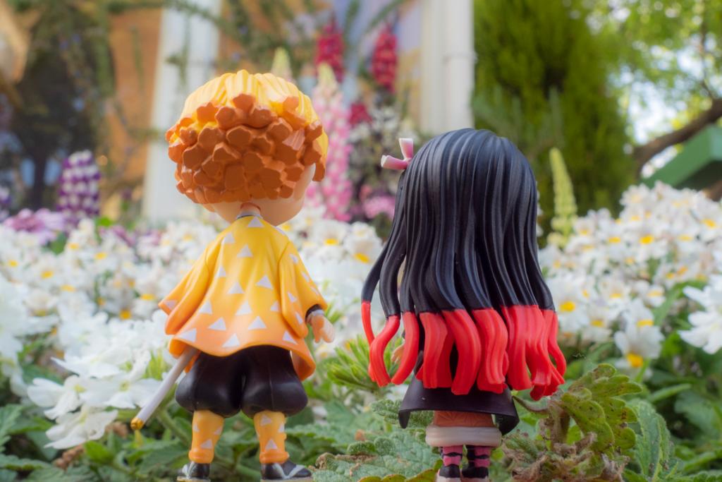 オリジナルショップの花壇