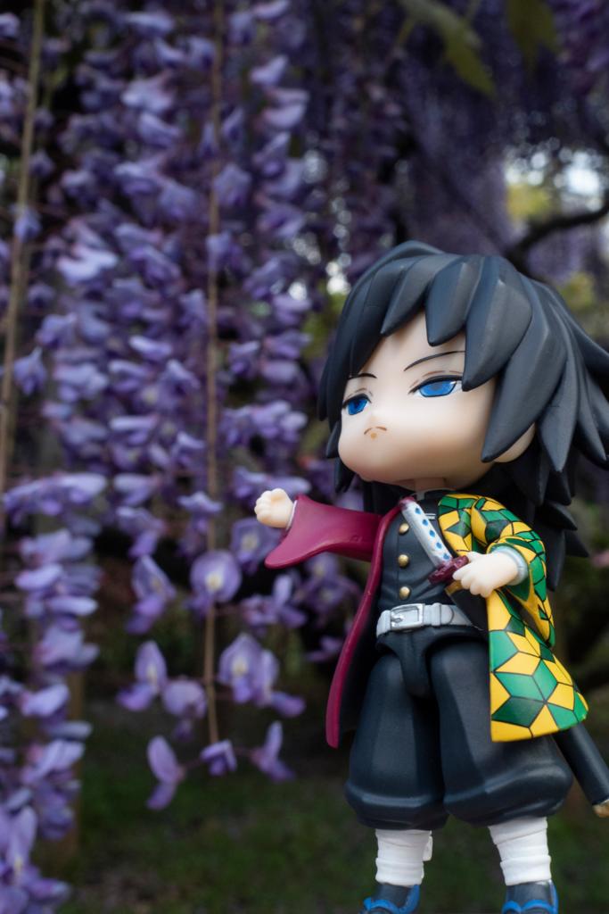 藤の花と冨岡義勇さん